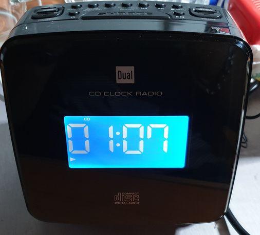 Radio budzik CD aux stereo