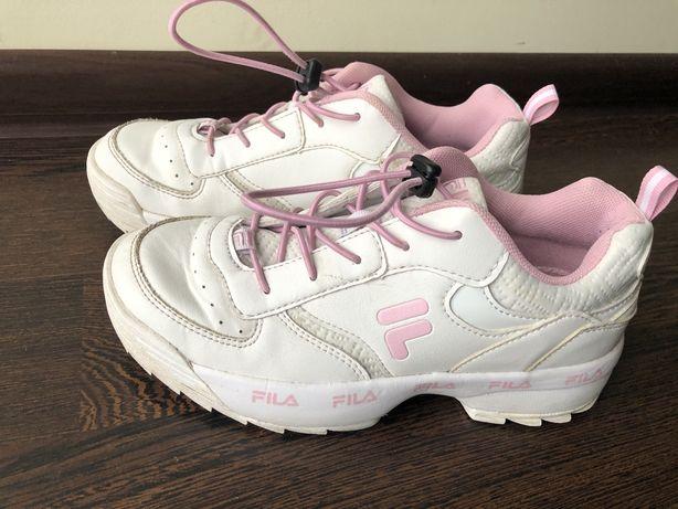Sneakersy dziewczęce Fila rozmiar 36 stan bdb