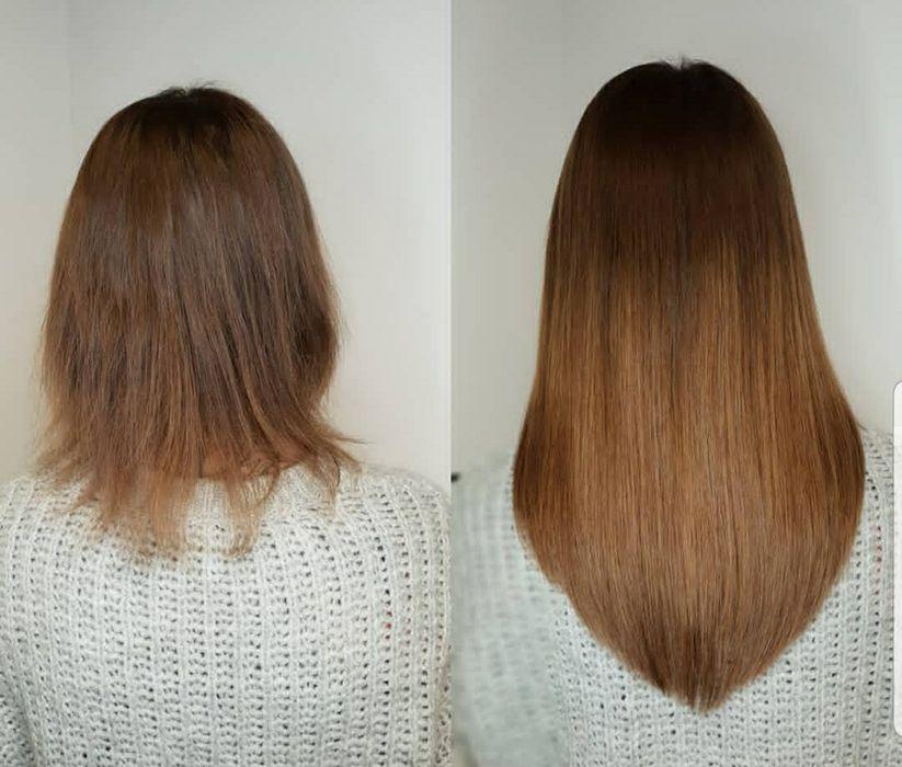 Hairtalk włosy słowiańskie do przedłużania metodą kanapkową Lubin - image 1