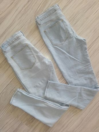 Dwie pary spodni / sinsay / mid waist /34 /S