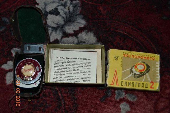Продам экспонометр Ленинград - 2