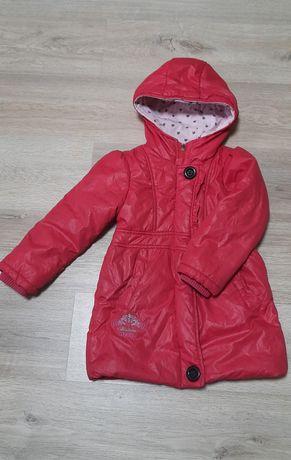 Курточка теплая для девочки
