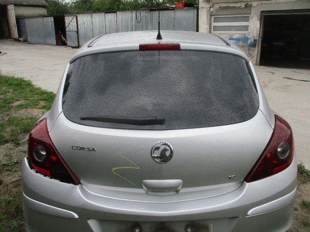 Opel Corsa D klapa bagażnika Kompletna Z157 idealna 3-drzwiowa