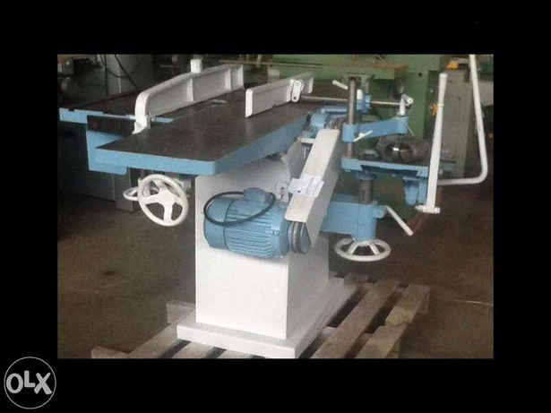 Garlopa 350mm com furador e serra circular 380v