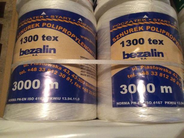 Sznurek, SIATKA do prasy BEZALIN : 1600, 2000, 3000 ATLAS JUTA HELLAS