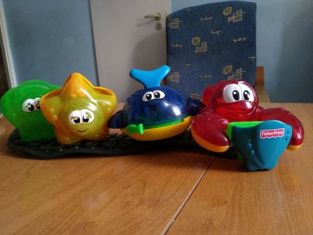 Zabawki Fisher Price do wody
