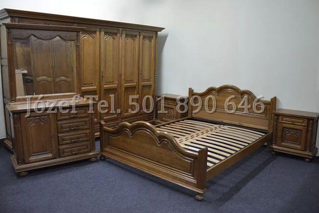 Wspaniała Sypialnia Dębowa / Łoże 180 lub 160