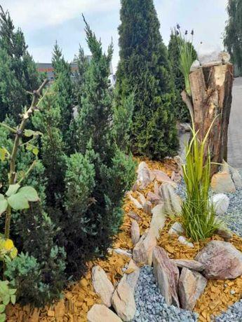 ogrodowe ozdoby, kamienie