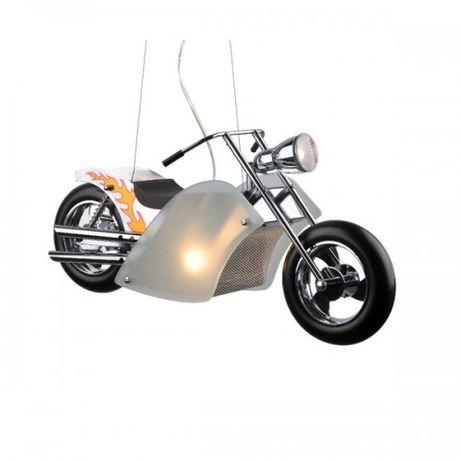 lampa wisząca żyrandol motor motocykl harley