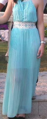 Vestido casamento comprido plissado tamanho S