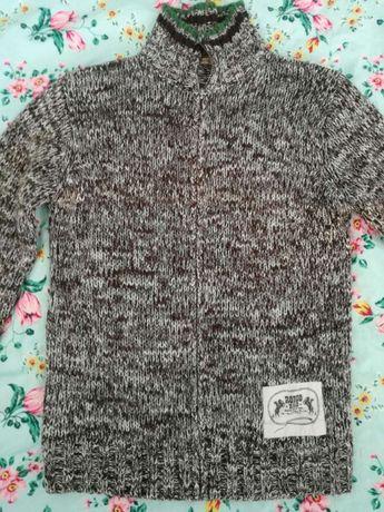 Sweter męski Reserved rozm L rozsuwany bardzo ciepły
