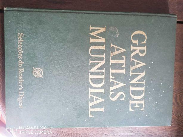 Livro Grande Atlas de Portugal
