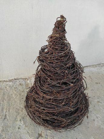 Choinka z gałęzi brzozy wysokość 37cm