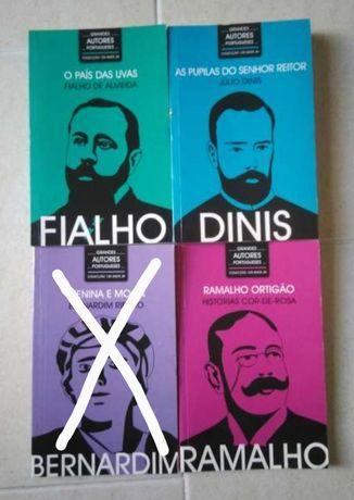 Diversos Livros de Grandes Autores Portugueses