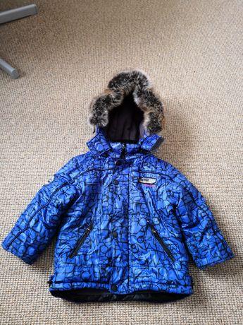 Пуховик перо Куртка для мальчика 2-3 года