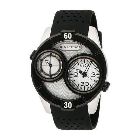 Marc Ecko men's The Maestro Black And Silver Watch