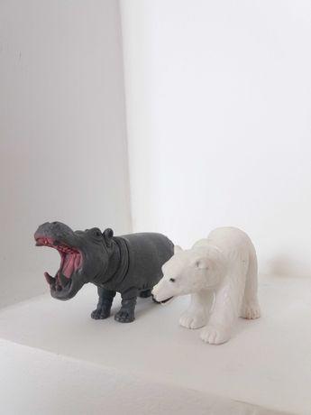 Тваринки, бегемот ведмідь і тд.