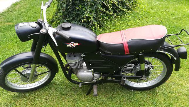 Wsk 125 dwóramówka 1971r