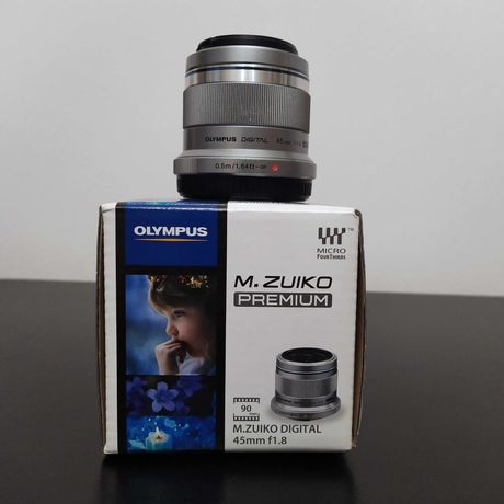 Olympus 45mm f1.8 - Micro 4/3 (Panasonic, Olyumpus)