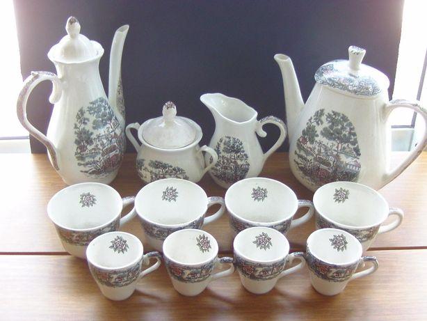 conjunto de chá/café 16 peças
