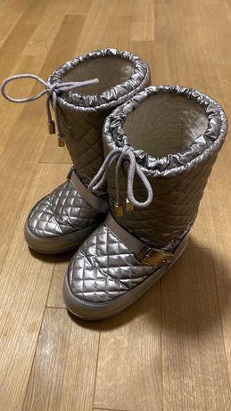 Cesare paciotti snow boots  сноубутсы угги луноходы, зимние сапоги