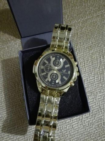 Meski zegarek zloty
