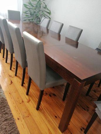 Stół do jadalni duży rozkładany