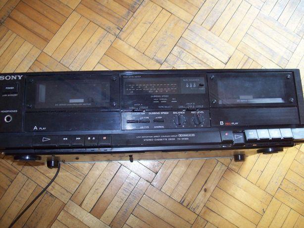 magnetofon kasetowy ''dec'' sony tc-w 300