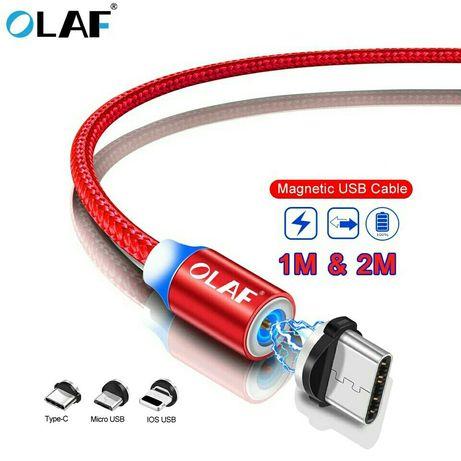 Коннектор / Магнитный кабель OLAF / Блочок / для быстрой зарядки (3A)