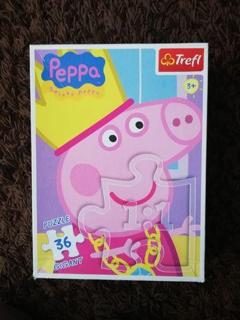 Puzzle gigant Świnka Peppa 36 elem