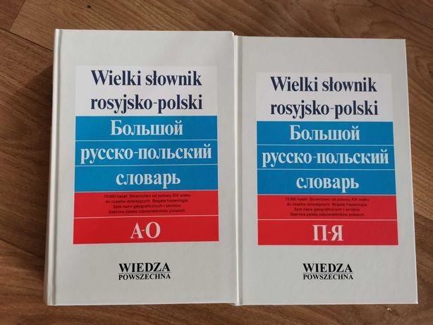 Słowniki języka rosyjskiego