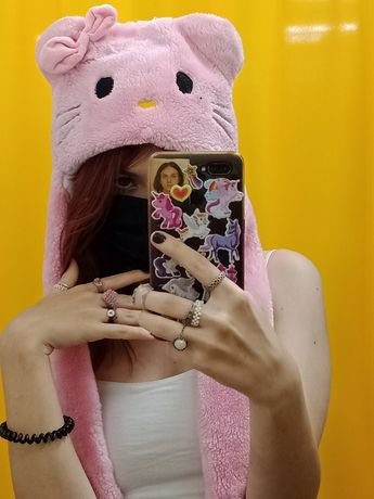 шапка хэллоу китти (hello kitty)