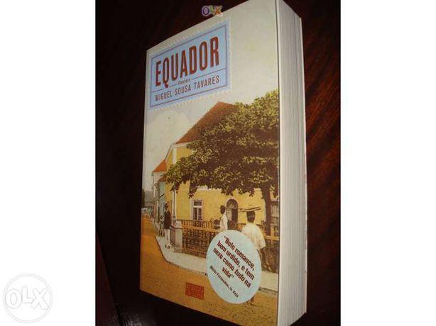 """Livro """"Equador"""" - Miguel Sousa Tavares"""