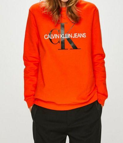 Nowa bluza Calvin Klein pomarańczowa rozmiar XL 42 śliczna oryginalna