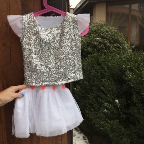Кофта юбка , костюм снежинки