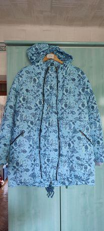 Зимнее пальто для беременных очень теплое