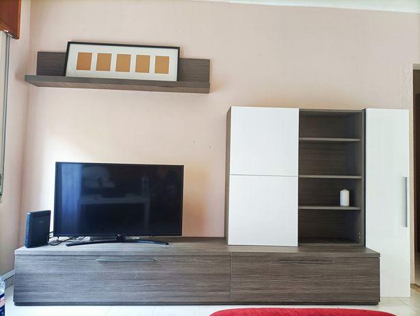 Conjunto 5 móveis sala