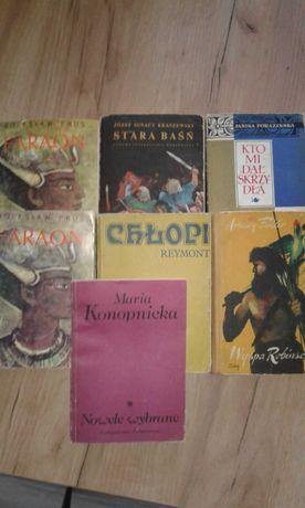 7 książek- lektury...