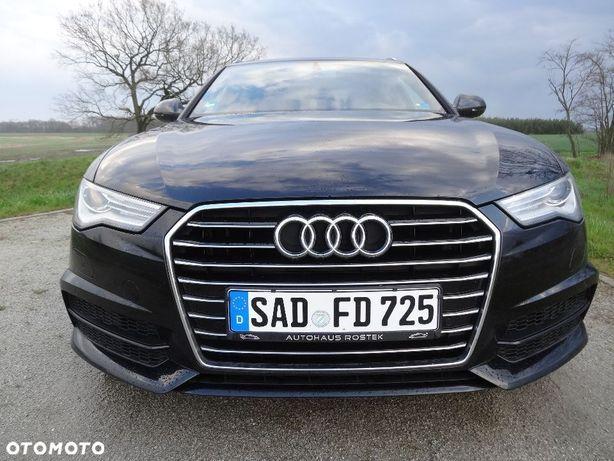 Audi A6 C7 Lift S LINE 2.0 TDI 190KM EURO6 Bezwypadkowa 1 Wł Serwis Jak Nowa!