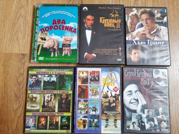 Продам диски з фільмами