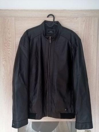Skórzana kurtka męska czarna Wittchen rozmiar L