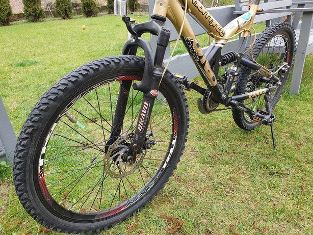 Rower 24 NORTHREC - hamulce tarczowe, pełna amortyzacja - okazja!!!