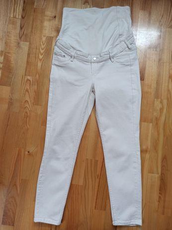 Jeansy, spodnie ciążowe h&m