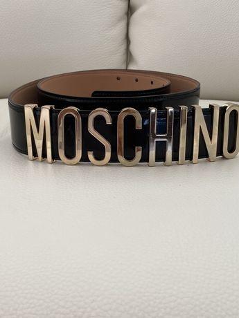 Кожаный пояс Moschino
