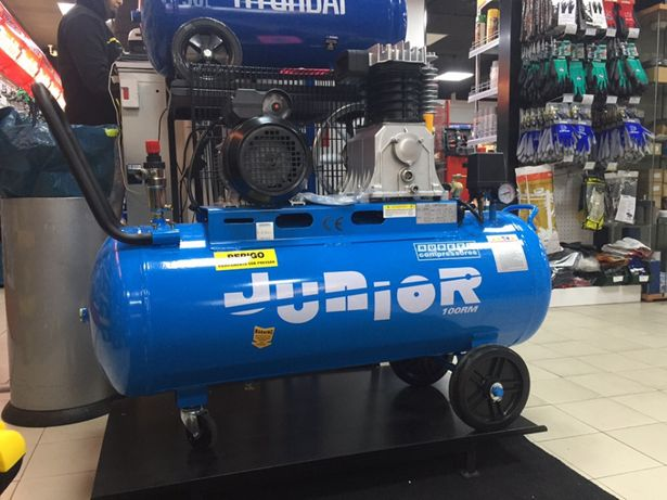 Compressor 3HP Rubete Junior 100 RM