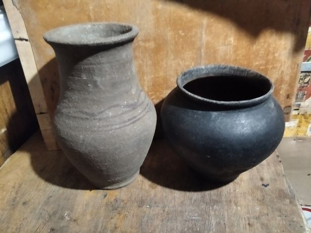 Продам глиняні горщик і глечик.