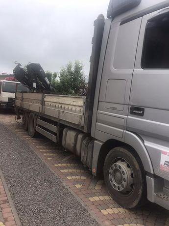Вантажні перевезення до 22 тон Sprinter Man Mersedes Actros