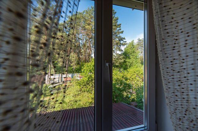 дом для круглогодичного проживания в сосновом лесу от хозяина