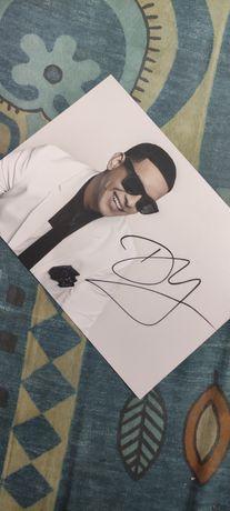 Daddy Yankee! Zdjęcie z autografem!