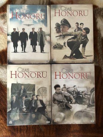 Czas honoru nowe płyty sezon 1 2 3 i 4 folia